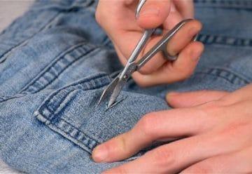 Comment effilocher un jean techniques DIY